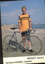 MICHAEL WRIGHT Cyclisme cp 70s IJSBOERKE COLNAGO Cycling ciclismo wielrennen