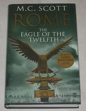 M.C.SCOTT - ROME - THE EAGLE OF THE TWELFTH - UK 1/1 SIGNED/LINED/DATED