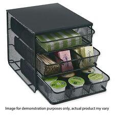 Nespresso 3 Tier Coffee Pod Capsule Holder Dispenser Kitchen Storage Organiser