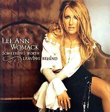 Lee Ann Womack CD Something Worth Leaving Behind - Europe (M/M)