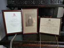 More details for vintage-mentioned in despatch-douglas haig certificate-signed winston churchill