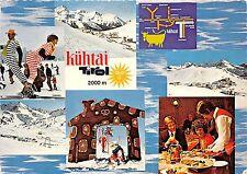 B73041 Kuhtai Tirol ski multi views Austria