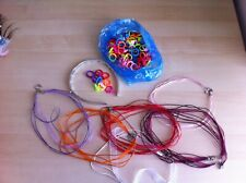 Bundle Jewellery Findings - Plastic Flat Ring Bases & Multistrand Chokers - VG
