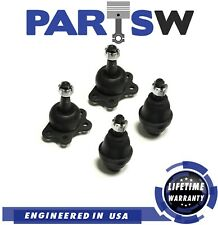 Front Upper & Lower Ball Joint Left Right Set of 4 for Chevy GMC Pickup 2WD New