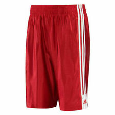 Adidas Boys Special Shorts Basketball Red (234376) 100% Authentic Size L New