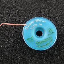 Entlötlitze 1,27mm breit 1,5m lang mit Kolophonium Löten Entlöten Litze rosin