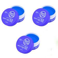 3 X Red One Matte Hair Wax  150ml - BUBBLEGUM (GENUINE PRODUCTS)