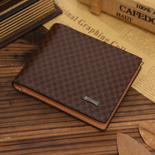 MENS DELUXE LEATHER WALLET WITH MANY COMPARTMENTS,  BROWN LEATHER, OUR BEST SAVE