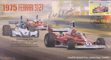 1975a FERRARI 312T, ANDERSTORP, SWEDEN F1 cover signed DAVE CHARLTON