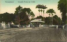 brazil, PERNAMBUCO, Estação de Ponte d'Uchoa, Station (1910s)