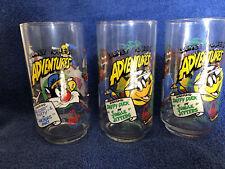 Warner Bros. Looney Toons 1988 Arbys Collector's Glasses Daffy, Taz, Sylvester
