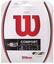 New Wilson Nxt 16 (1.30) Tennis String Set Natural Pack