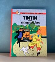 Tintin et le thermozéro. Les aventures de Tintin pastiche 2019 Cartonné 80 pages