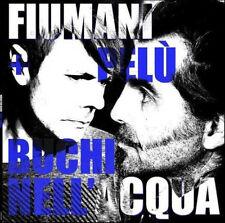 "FIUMANI + PELU' ""BUCHI NELL'ACQUA"" VINILE+CD, NEW! ITA NEW WAVE-POST PUNK-INDIE"