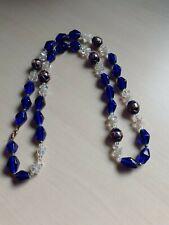 Glass beads Necklace Long Vintage Venetian