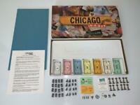 Chicago In-a-Box Late for the Sky Monopoly Style Board Game Early Version!
