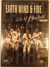 Earth, Wind  Fire - Live at Montreux 1997 (DVD, 2004) BRAND NEW!