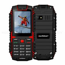 "2.4"" Waterproof Phone Touch Dual SIM Shockproof Cell Phone Unlocked 2G Rugged"