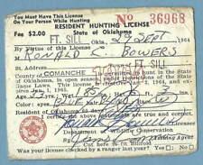 Vintage 1957 Seward Alaska Resurrection Bay Silver Salmon Fishing License