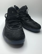 27e171517d62fa Jordan Super Fly Flight Low MEN S Basketball Shoe Black Gold AA2547 021 Sz  11.5