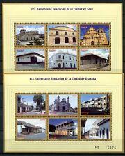 NICARAGUA 1999 Granada Leon Architektur 4092-4103 **