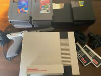 NES Console With Zapper And 21 Games!! Great Bundle Get It Now!!!! #value