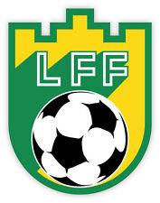"""Lithuania Lietuvos LFF National Football Association sticker decal 4"""" x 5"""""""