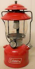 red Coleman lantern Wichita Kansas 1976