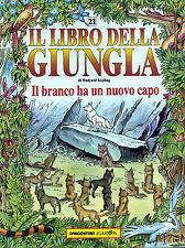 """RUDYARD KIPLING 1992 """" IL LIBRO DELLA GIUNGLA : IL branco ha un nuovo capo """""""