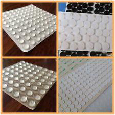 100PCS Self Adhesive Rubber Feet Clear Semicircle Bumpers Door Buffer Pads