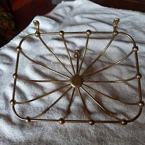 Antique J. L. MOTT IRON WORKS Sponge basket Edwardian Deco Victorian soap holder