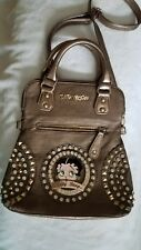NWT Authorized Betty Boop Bronze Hobo Style Handbag 'Signature Collection'