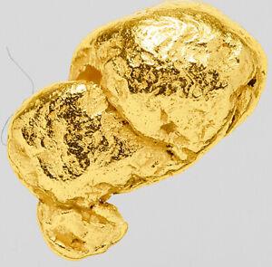 0.3668 Gram Alaska Natural Gold Nugget  ---  (#63454) - Alaskan Gold Nugget