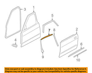 JAGUAR OEM 95-03 Vanden Plas Exterior-Rear-Window Molding GNA3273AE