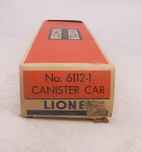 BX Lionel Postwar 6112-1 Canister Car #2 - Empty Box