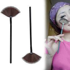 Modish Makeup Large Fan Fake Hair Blush Face Powder Foundation Cosmetic Brush