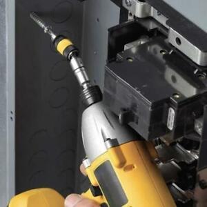"""Hex Shank 1/4"""" Magnetic Drywall Screw Bit Holder Drill Screw Tool Drill Bit Set."""