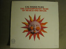 CAL TJADER PLAYS THE CONTEMPORARY MUSIC OF MEXICO AND BRAZIL LP 62 VERVE JAZZ VG