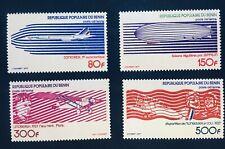 Benin 265-8 Aviation Stamp Set 1977