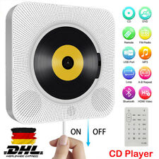 Bluetooth DVD/CD Player Wandmontage Musik Spieler Heim Audio Boombox Tragbarer