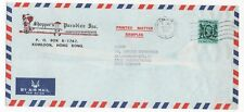 1983 HONG KONG Air Mail Cover KOWLOON to BRAUNSCHWEIG GERMANY Commercial
