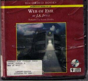 Web of Evil by J.A. Jance CD Complete Unabridged Ali Reynolds
