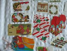 Vintage Christmas gift tags new unused collectable over 100 count