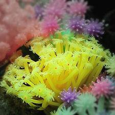 Sea Anemone Aquarium Decoration Imitated Coral Ornament Underwater Aquatic Decor