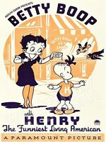 1935 Betty Boop Movie Poster High Quality Metal Fridge Magnet 3x4 9815