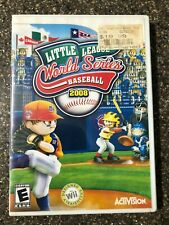 Little League World Series Baseball 2008 - Complete w/ Manual - Tested Working
