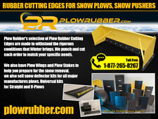 14' Rubber Cutting Edge,Snow Pusher,Snow Plows & All Major Mfg. Of Snow Pushers