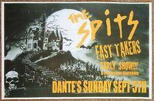 THE SPITS 2010 Gig POSTER Portland Oregon Concert