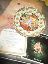 VILLEROY & BOCH Heinrich TOM TOM PIPER'S SON Once UPON RHYME Plate w COA &BOX