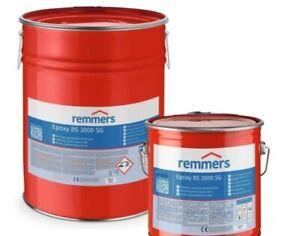 BESCHICHTUNG Bodenbeschichtungsset 40-50m² Remmers BS 2000 / BS 3000 SG RAL7035